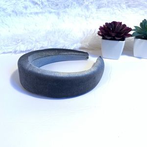 Accessories - Smokey Gray Padded Velvet Headband